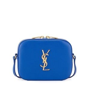 Saint Laurent Classic Monogram Camera Bag-Blue